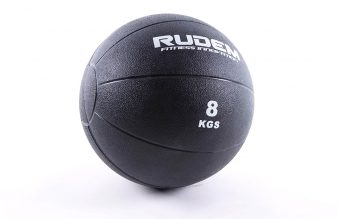 """RUDEM Rubber Medi Ball (Rebote) 8"""" - 8kg"""