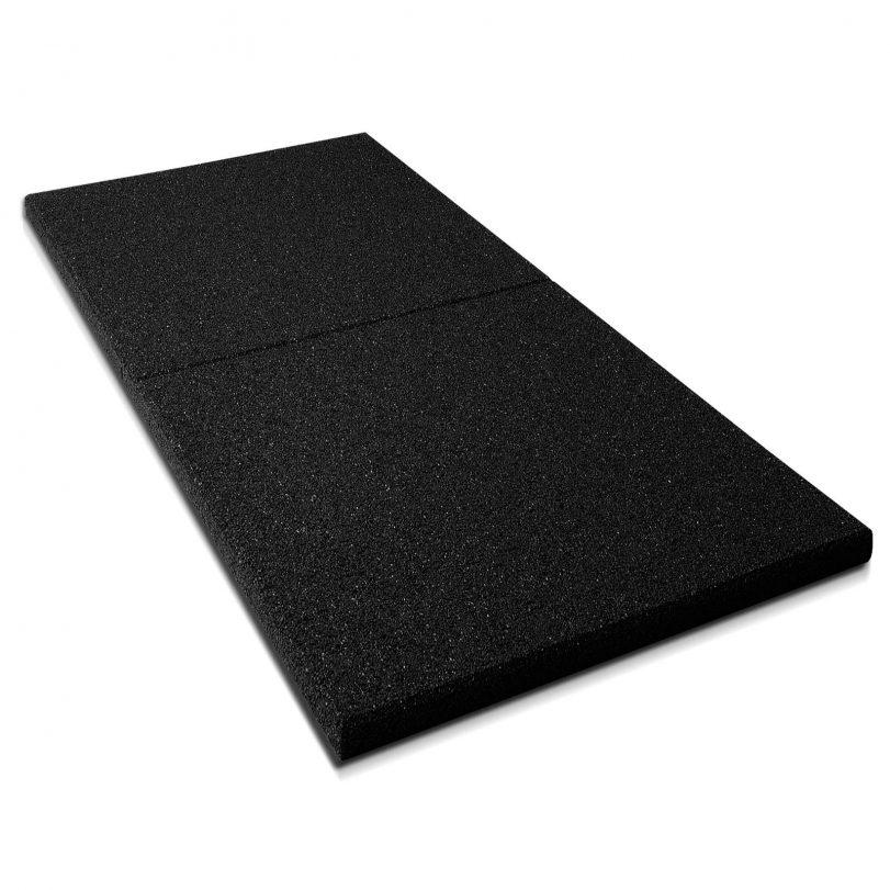 Piso de caucho doble densidad de 20 mm (precio por plancha)