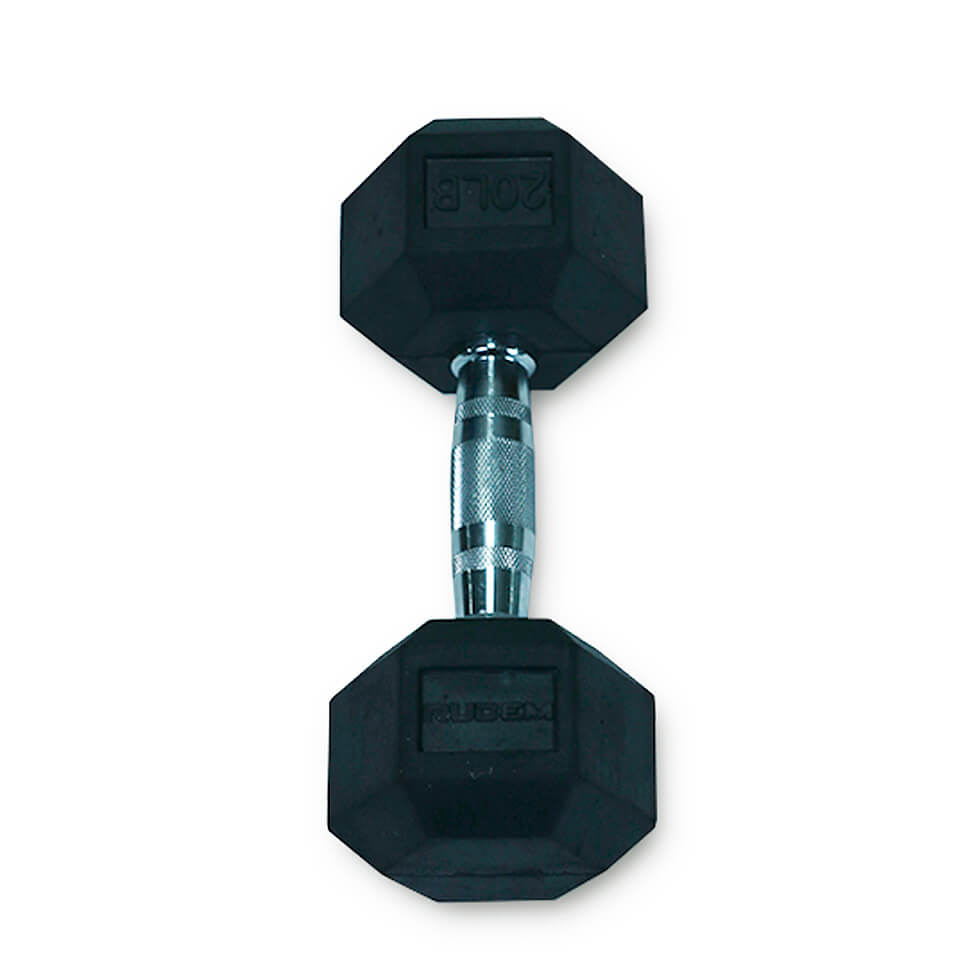 Dumbbell / Mancuerna Hexagonal 20LB