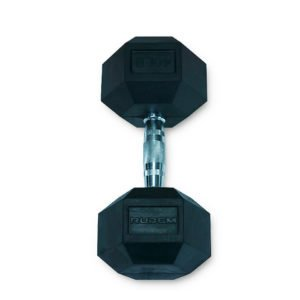 Dumbbell / Mancuerna Hexagonal 40LB