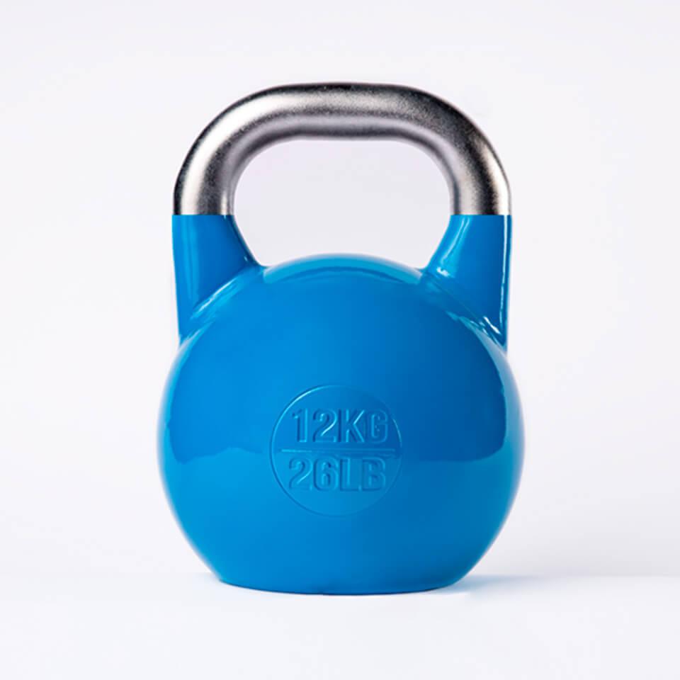 Kettlebell Deportivo Profesional 12kg espalda