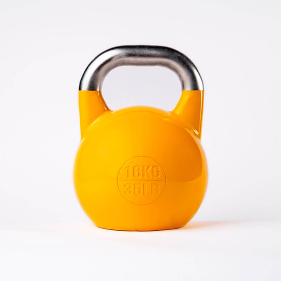 Kettlebell Deportivo Profesional 16kg espalda