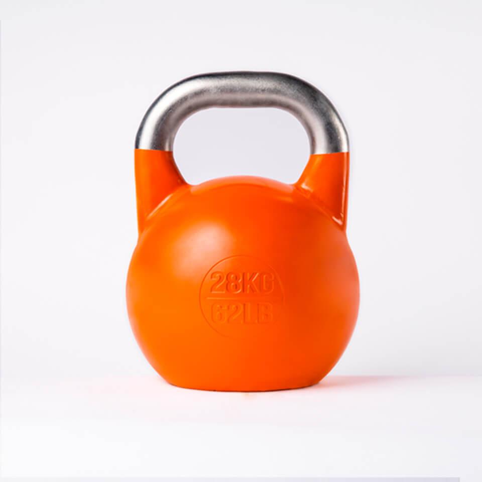 Kettlebell Deportivo Profesional 28kg espalda
