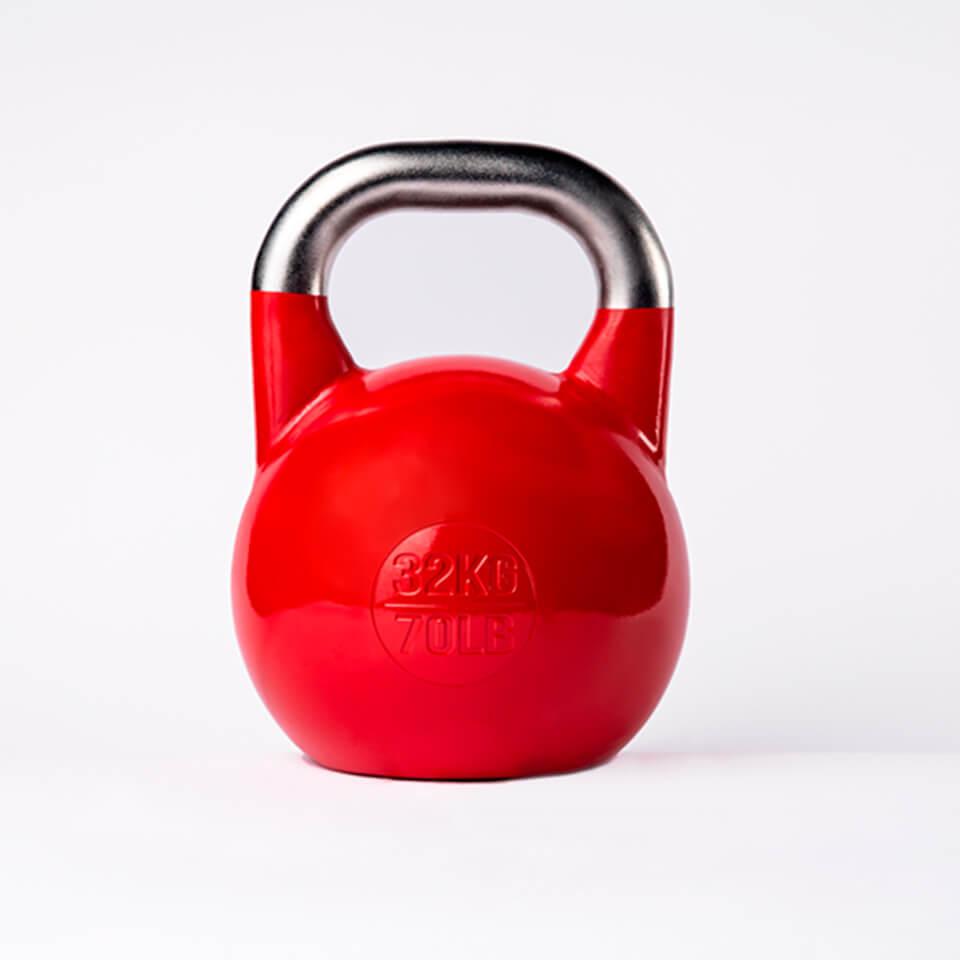 Kettlebell Deportivo Profesional 32kg espalda