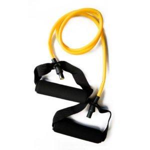 Ligas de resistencia con agarre. Amarillo