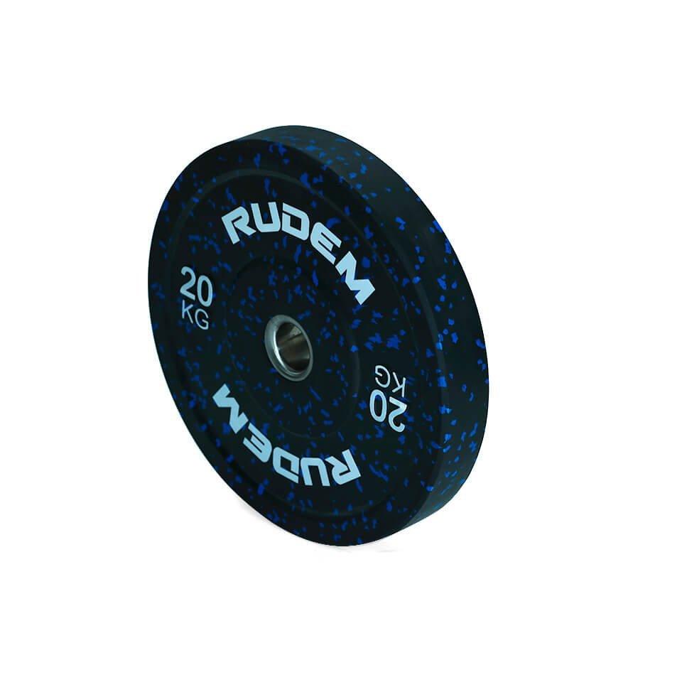 RUDEM Camouflage bumper plates 20kg