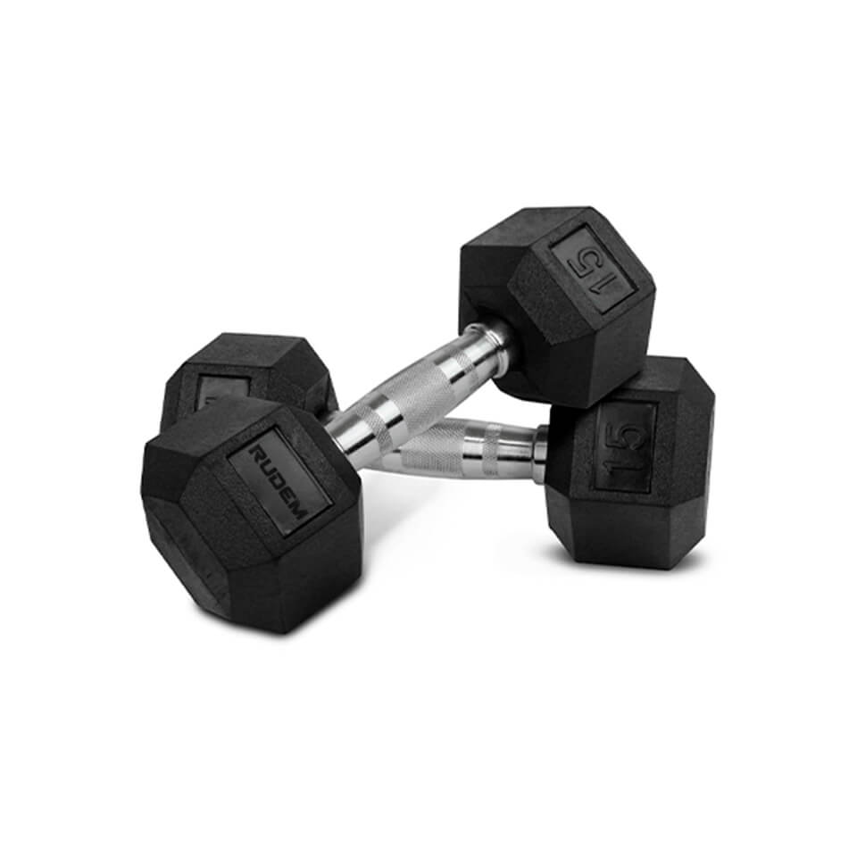 Dumbbell / Mancuerna Hexagonal 15LB