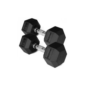 Dumbbell / Mancuerna Hexagonal 25LB